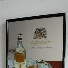 Carteles: CUADRO ESPEJO MASCARO. Lote 128789135