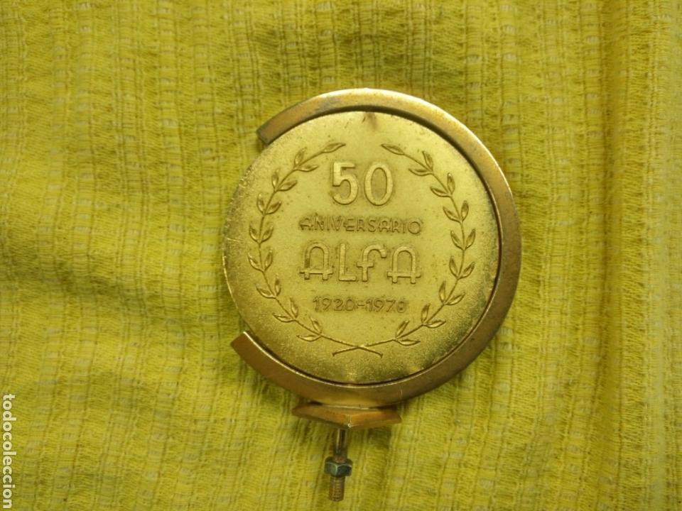 Carteles: PLACA 50 ANIVERSARIO ALFA 1920 1970 - Foto 4 - 145384892