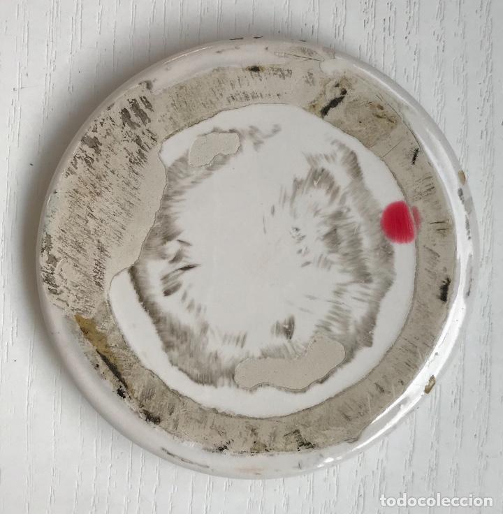Carteles: Pequeña placa de loza de Bodegas Castilla - Santander (Vinos y licores) - Foto 2 - 131324170