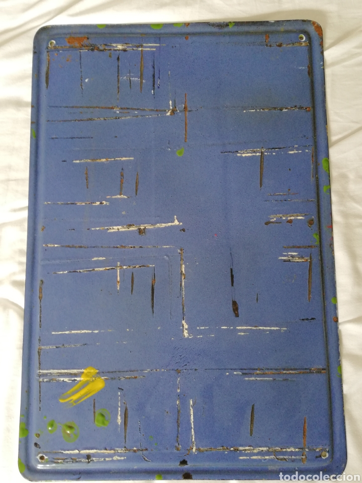 Carteles: Placa esmaltada Singer - Foto 2 - 131435425