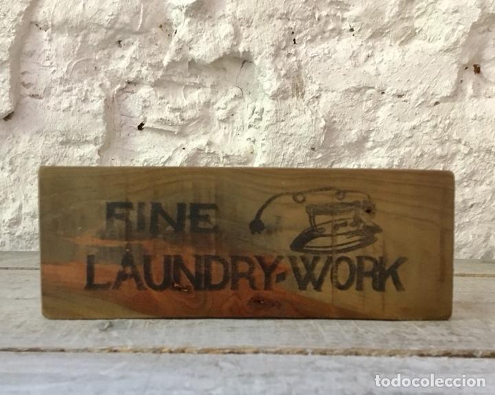 cartel laundry para lavandería o cuarto de lava - Kaufen Alte ...