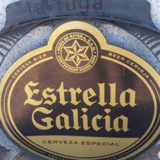 Carteles: CHAPA EXTRELLA GALICIA. Lote 134106705