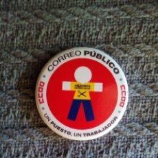 Carteles: CHAPA CCOO - CORREOS. Lote 134116461