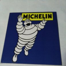 Carteles: MICHELÍN CHAPA DE HIERRO. Lote 134133842