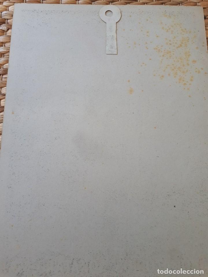 Carteles: Cartel Publiidad NOSA Insecticida. Laborat. Sokatarg, S.A. Cartón. E. Freixa. Original años 20-30s - Foto 2 - 135486878
