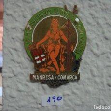Carteles: CHAPA SEGUROS 7 X 5,5. Lote 137227550