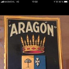 Plakate - Chapa Seguros Aragon , años 30-40 - 137637642