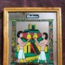 Carteles: ESPEJO PUBLICITARIO MAHOU HISTORIA DE LA CERVEZA BELLE EPOQUE BEBIDA 26X21,5CMS. Lote 137912814