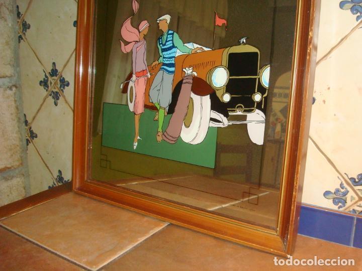 Carteles: espejo publicidad ballantines gran tamaño 47 cm x 62 cm, - Foto 2 - 138065842
