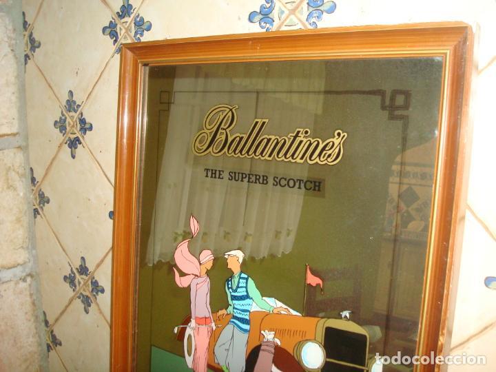 Carteles: espejo publicidad ballantines gran tamaño 47 cm x 62 cm, - Foto 3 - 138065842