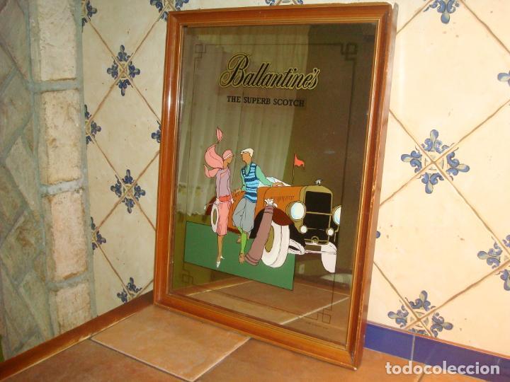 Carteles: espejo publicidad ballantines gran tamaño 47 cm x 62 cm, - Foto 4 - 138065842