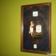 Carteles - espejo publicidad nestle la lechera 51,5 cm x 33cm - 138066158
