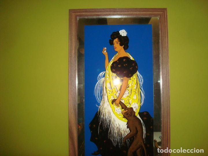 Carteles: espejo publicidad anis del mono dificil 31 cm x 60 cm - Foto 2 - 138067022