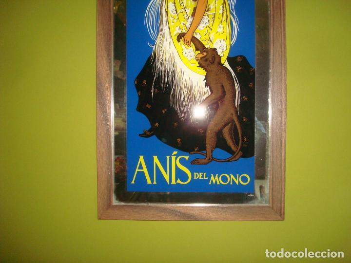 Carteles: espejo publicidad anis del mono dificil 31 cm x 60 cm - Foto 3 - 138067022