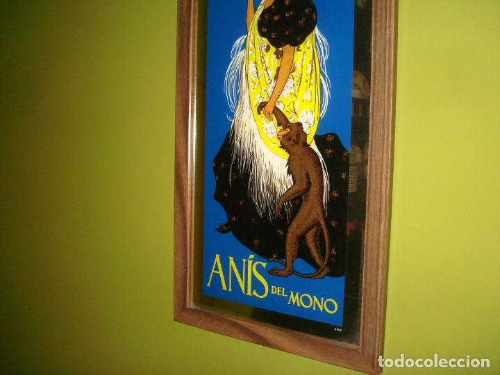 Carteles: espejo publicidad anis del mono dificil 31 cm x 60 cm - Foto 4 - 138067022