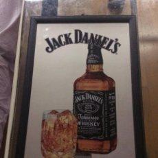 Carteles: CUADRO ESPEJO JACK DANIELS. Lote 138523914
