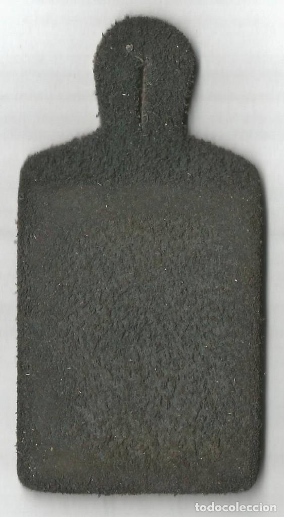 Carteles: jefe CAP DE TREN FERROCARRILES LA GENERALITAT DE CATALUNYA CHAPA PEPITO PIEL 10 X 5 CM FERROCARRIL - Foto 2 - 150150284