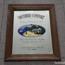 Carteles: SOUTHERN COMFORT - CUADRO ESPEJO - 33X25CMS . Lote 140815378