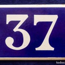 Carteles: ANTIGUO CARTEL DE CHAPA ESMALTADA. Lote 143123306