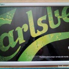 Carteles: CUADRO ESPEJO CERVEZA CARLSBERG - LOTE 1. Lote 143205302