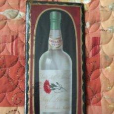 Carteles: CHAPA PLASTIFICADA ANIS EL CLAVEL , AÑOS 50. Lote 143369610