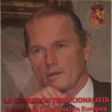 Carteles - D. Sixto de Borbón. Cartel Acto Público. Carlismo - 145163014