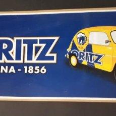 Plakate - cartel de chapa metal de cervezas moritz barcelona 1856 - 145985782
