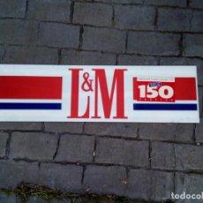 Carteles: CARTEL DE PUBLICIDAD DE TABACO LM. Lote 147143050