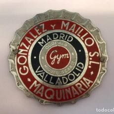 Carteles: CHAPA GONZÁLEZ Y MAILLO SL. Lote 148039698