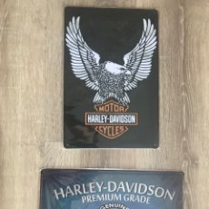 Carteles: CARTEL METAL HARLEY DAVIDSON. Lote 148452389