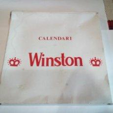Carteles: CALENDARIO PERPETUO DE PUBLICIDAD WINSTON. Lote 148551882