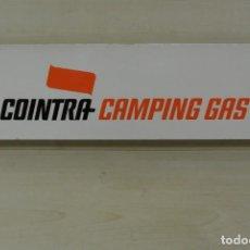 Carteles: CARTEL DE CHAPA COINTRA CAMPNIG GAS . Lote 148672438