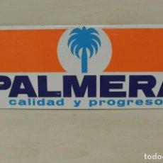 Carteles: CARTEL DE CHAPA LITOGRAFIADO DE HERRAMIENTAS PALMERA . Lote 150599205