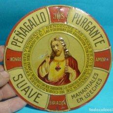 Carteles - CHAPA DE PUBLICIDAD PEÑAGALLO PURGANTE PARA LAS PUERTAS - 149340458