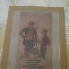 Carteles: LA MODERNISTA CHOCOLATES SERAFIN CUBERO ASTORGA LEON.. Lote 151035486