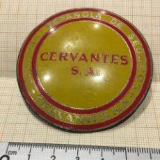 Carteles: PLACA SEGURO CÍA ESPAÑOLA DE SEGUROS CERVANTES SA. Lote 151440189