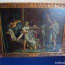 Carteles: (PUB-193)CARTEL DE CHAPA-LA MUERTE DE LUCRECIA-CARTELES ENVASES METALICOS HIJOS DE G. BERTRAN 1932. Lote 154486246