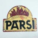 Carteles: CHAPA DE PUBLICIDAD INDUSTRIAS PARSI. Lote 155346200