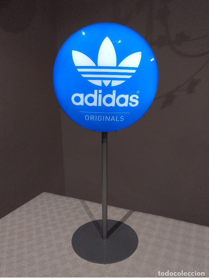 tornillo Impotencia Cerdo  Cartel letrero luminoso adidas original a dos c - Sold through Direct Sale  - 155380562