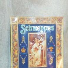 Carteles: CARTEL PUBLICITARIO SCHWEPPES , CARTEL CHAPA. Lote 156029214