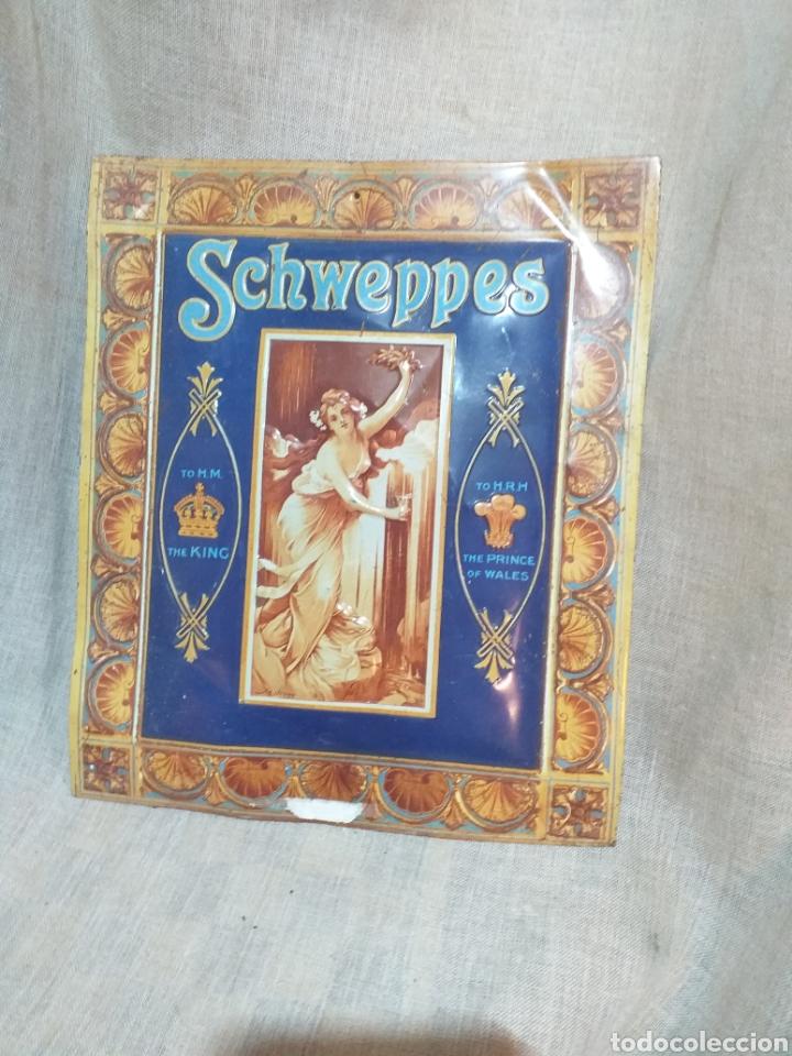 Carteles: CARTEL PUBLICITARIO SCHWEPPES , CARTEL CHAPA - Foto 2 - 156029214