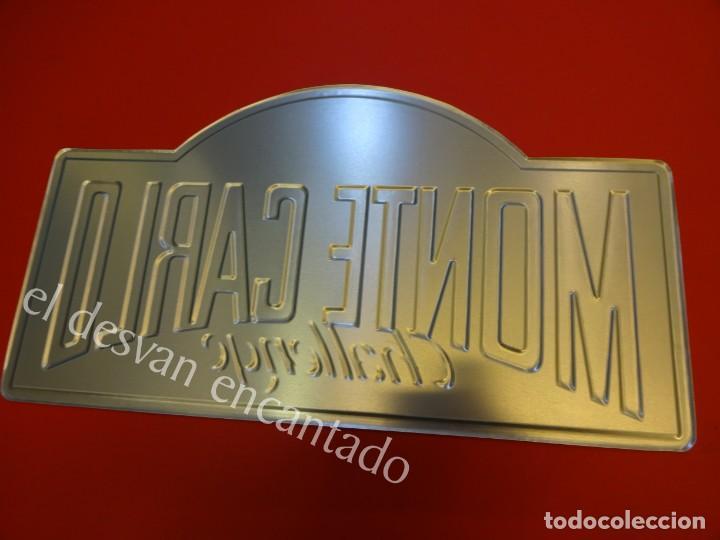 Carteles: Chapa ORIGINAL MONTE-CARLO Challenge 1994. 40 x 22 ctms. - Foto 2 - 156168946