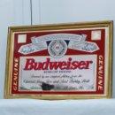 Carteles: ESPEJO LITOGRAFIADO BUDWAISER. Lote 159784530