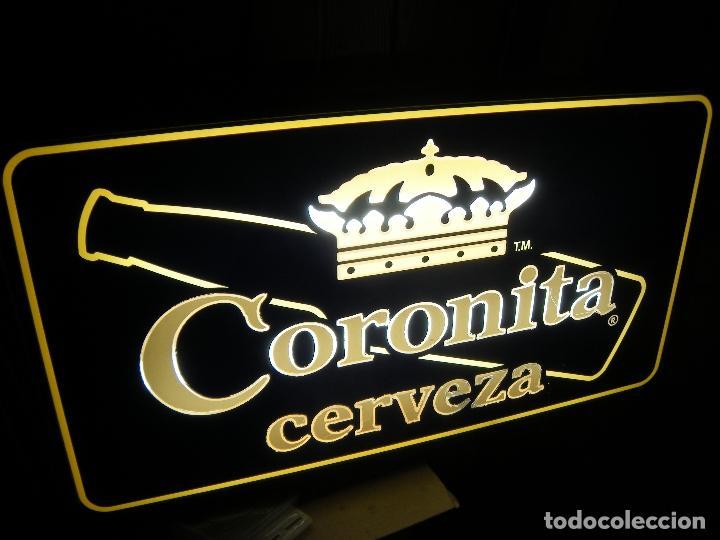 LUMINOSO CERVEZA CORONITA (Coleccionismo - Carteles y Chapas Esmaltadas y Litografiadas)