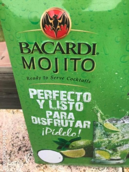 Carteles: Chapa troquelada, Bacardi-Mojito - Foto 2 - 160399358