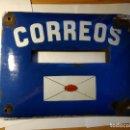 Carteles: CHAPA BUZÓN DE CORREOS. ESMALTADA.. Lote 160412298