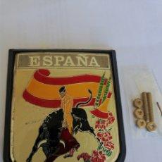 Carteles: ESCUDO CHAPA ESPAÑA. Lote 161533153