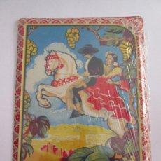 Carteles: PASAS MOSCATELES - MALAGA - CHAPA METALICA COLECCION LOS ANUNCIOS DE TU VIDA 17,5X12,5 CM PRECINTADA. Lote 162098122
