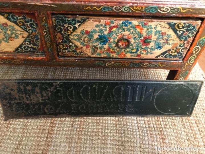 Carteles: Chapa Nitrato de Chile. Se vende Aquí (69,5X16,5 cms). Años 1930s. Muy rara. - Foto 14 - 111528375