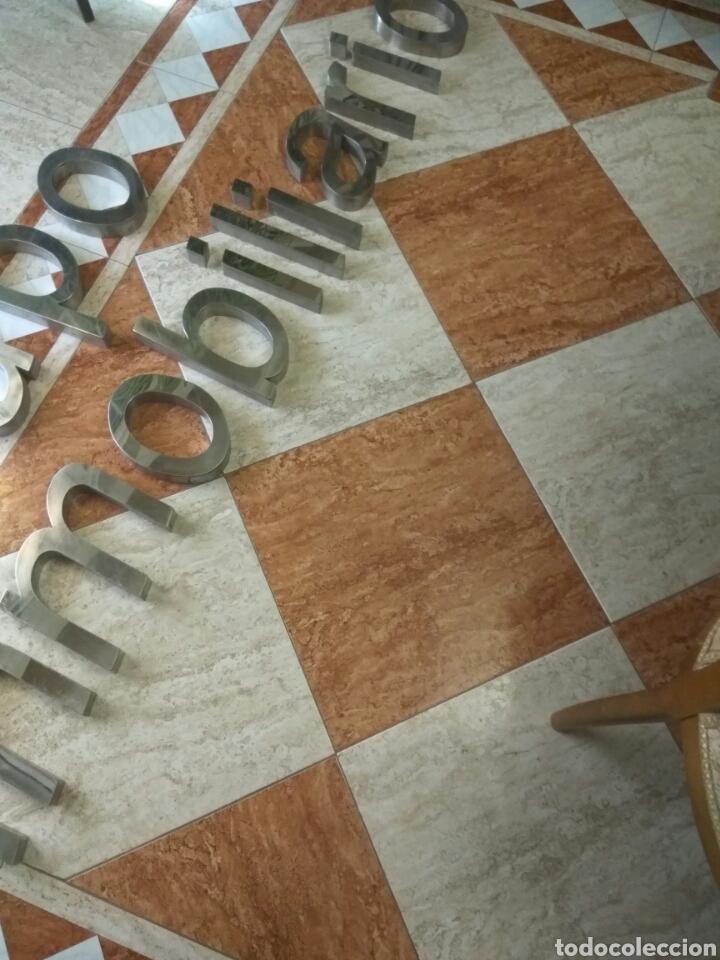 Carteles: LETRAS ACERO INOXIDABLE - Foto 3 - 165875466